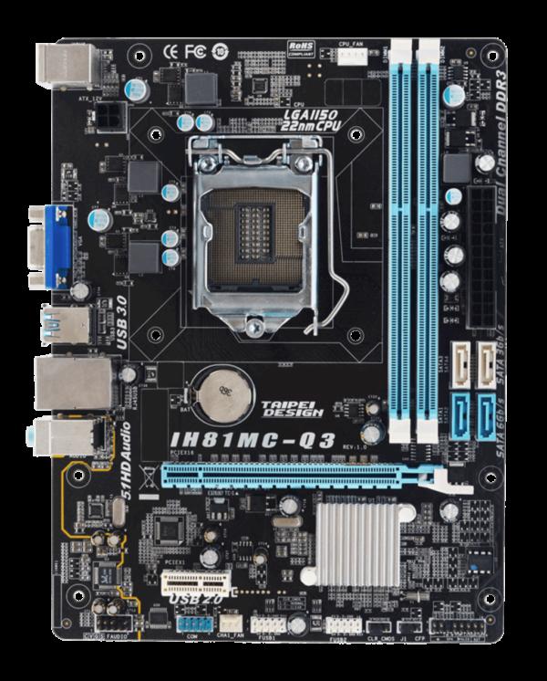 Placa Mae 1150 Biostar IH81MCQ3 USB3