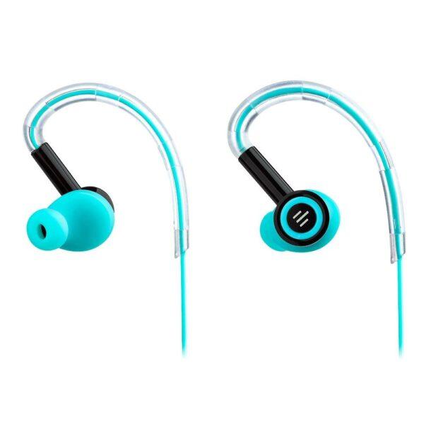 Pulse Fone de Ouvido Silicone Earhook Preto/Azul Ph220