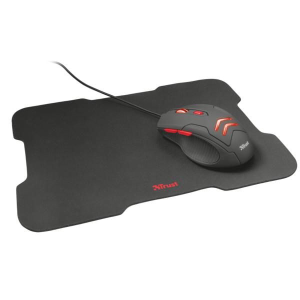 Combo Mouse + Mousepad Gamer Trust T21963