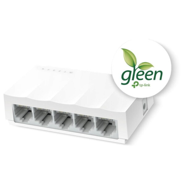 Switch De Mesa Com 5 Portas 10/100 Mbps Ls1005