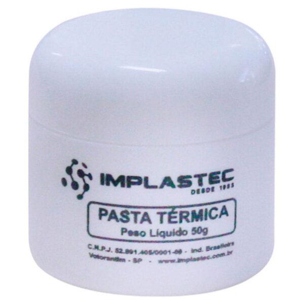 Pasta Térmica Silver Pote Implastec 50G