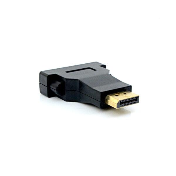 Adaptador DisplayPort Dp para Dvi 24+5 Fêmea Pluscable ADP-102BK