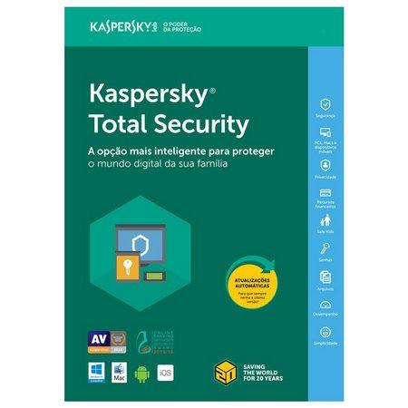Kaspersky Total Security 2021 Download Brasil 1 PC