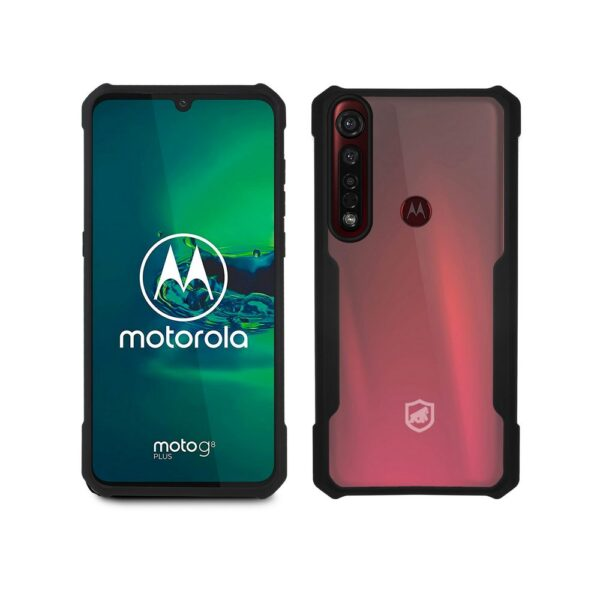 Capinha Motorola Capa Moto G8 Plus Dual Shock X Gorila Shield