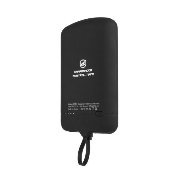 Carregador Portatil Tipo C Gorila Shield