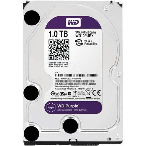 HD para Dvr Intelbras 1 Tera WD Purple WD10PURX