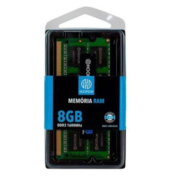 Memória Ram Notebook Ddr3 8Gb 1600Mhz