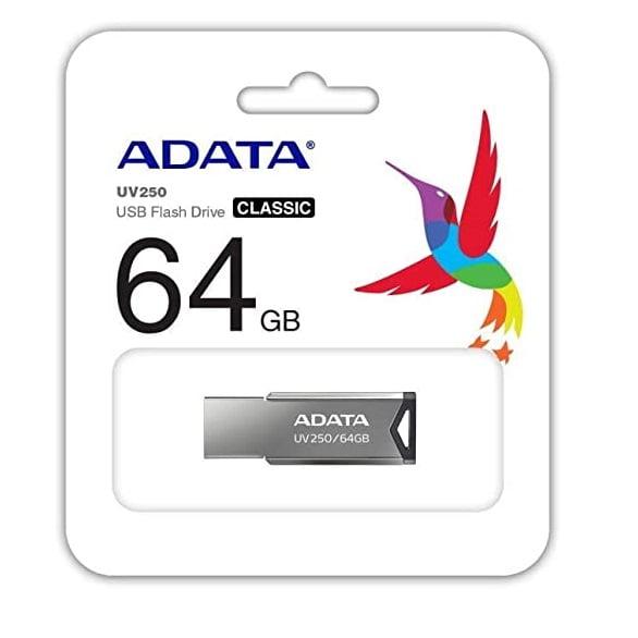Pen Drive 64GB Adata AUV25064GRBK